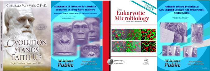 Journal and Book Covers G-Paz-y-Mino-C Evolution Literacy