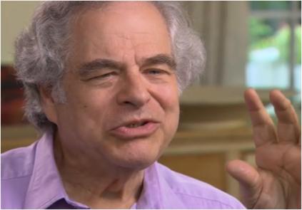 Violinis Itzhak Perlman 60 minutes Evolution Literacy