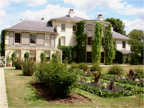 Down House Side View from gardens