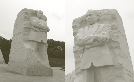A Martin Luther King sculpture - Photo G-Paz-y-Mino-C 2014