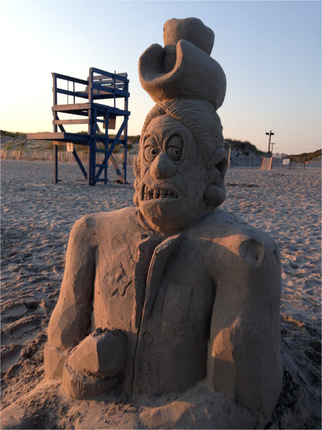 B Sand Sculpture Sachuest - Photo G-Paz-y-Mino-C 2015