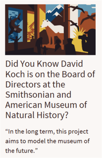 David Koch Board of Directors Smithsonian