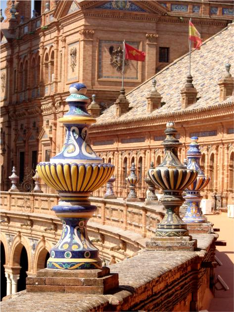 F - Plaza de Espanha - Seville - Photo G-Paz-y-Mino-C 2015