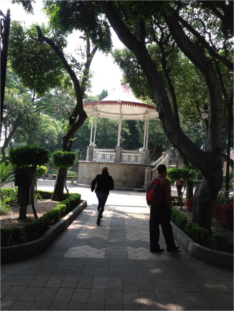 Gazebo in Tlalpan Mexico - Photo G-Paz-y-Mino-C 2015