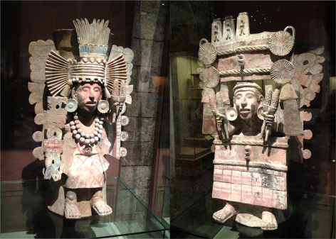 Human-size Statues Museum of Anthropology Mexico - Photo G-Paz-y-Mino-C 2015