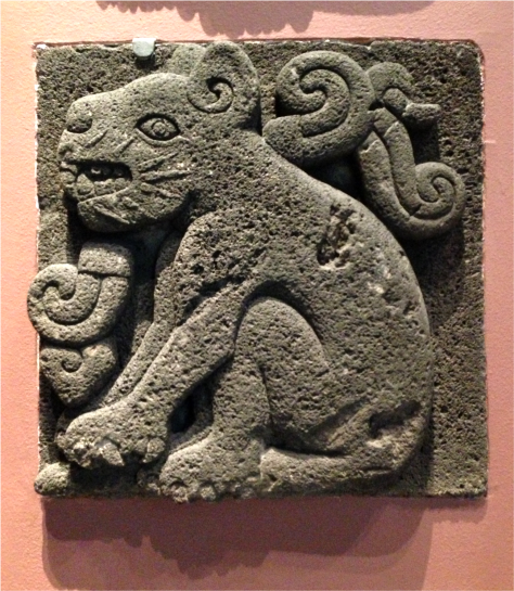 Jaguar Carved Rock Museum of Anthropology Mexico - Photo G-Paz-y-Mino-C 2015