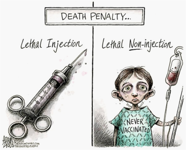 Lethal No-Injection Cartoon Evolution Literacy