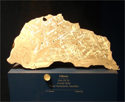 Meteorite Gibeon Photo G-Paz-y-Mino-C 2010