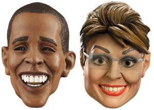 President Obama vs Governor Palin Smiles