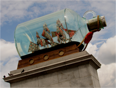 Ship In A Bottle London 2010