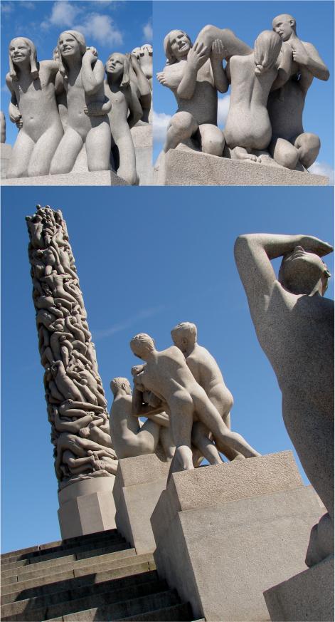 Vigeland Sculptures Oslo 2012