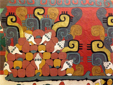 Wall Paint Museum of Anthropology Mexico - Photo G-Paz-y-Mino-C 2015
