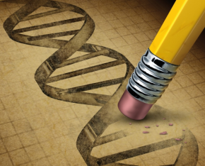 Editing DNA Image from Shutterstock