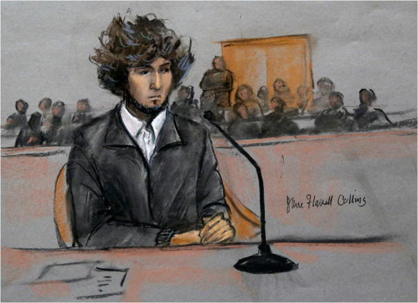 Jahar Tsarnaev illustration by Jane Flavell Collins