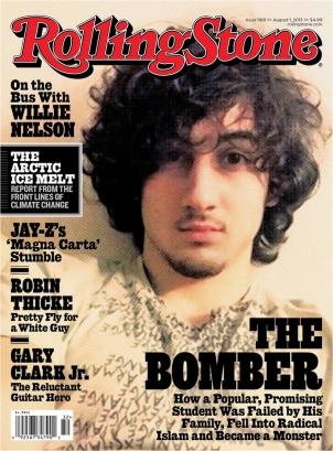 Jahar Tsarnaev RollingStone Magazine