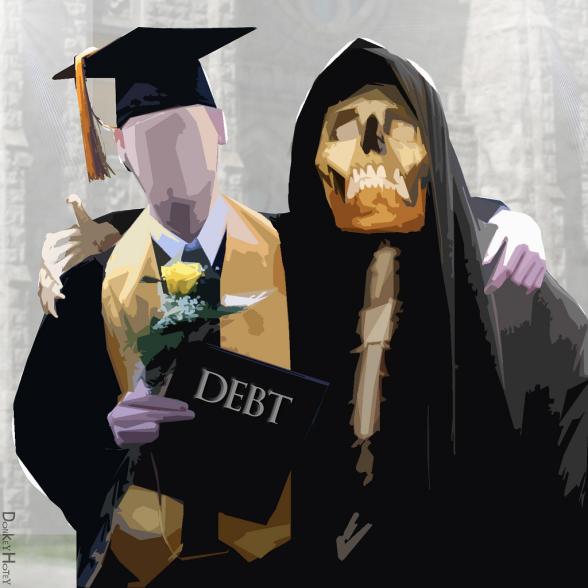 Student Debt by Donkey Hotey