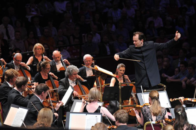 Conductor Andris Nelsons Boston Symphony Orchestra