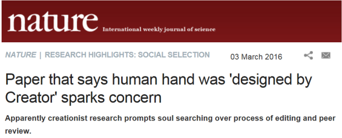 Nature calls it Social Selection