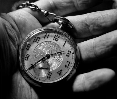 Pocket Watch Hand Media Images
