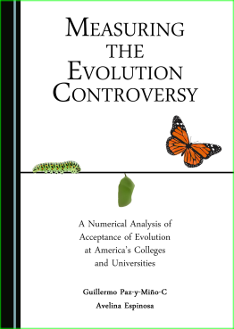 Cover Book Measuring Evolution Controversy Paz-y-Mino-C & Espinosa 2016