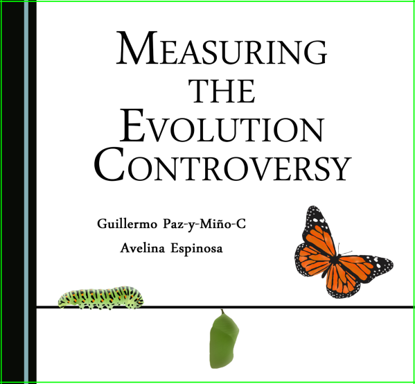 Small-Cover Book Measuring Evolution Controversy Paz-y-Mino-C & Espinosa 2016