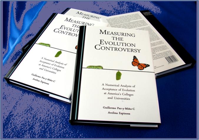Measuring The Evolution Controversy - FourBooks - Paz-y-Mino-C & Espinosa 2016