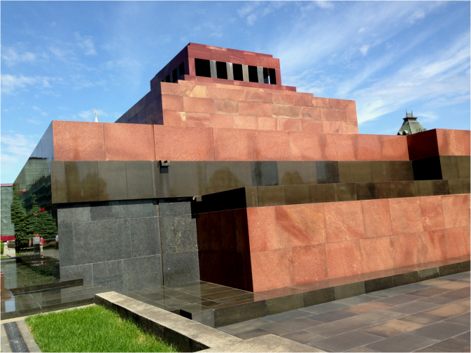 Back View of Lenin's Mausoleum - Photo G-Paz-y-Mino-C 2016