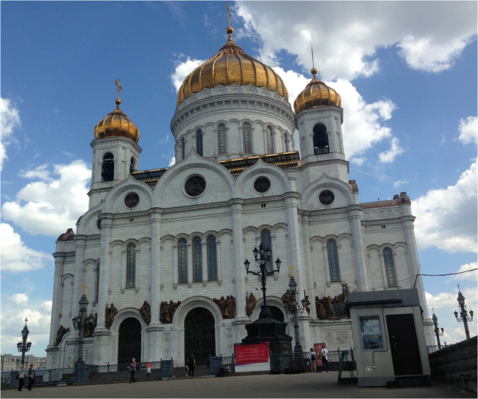 Cathedral of Christ the Saviour Moscow - Photo G-Paz-y-Mino-C 2016