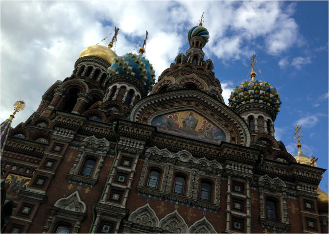 Church of the Savior on Spilled Blood St Petersburg CLOSE UP - Photo G-Paz-y-Mino-C 2016