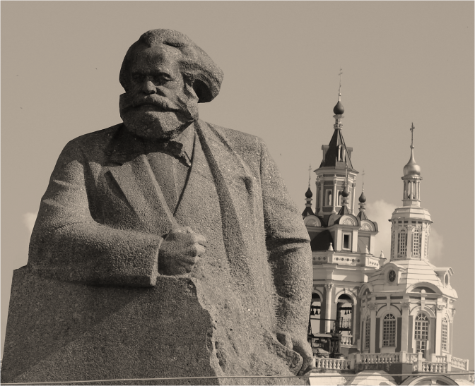 Karl Marx Monument Moscow - Photo G-Paz-y-Mino-C 2016