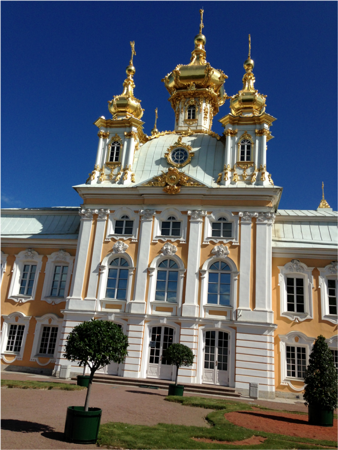 Main Entrance Summer Palace St Petersburg - Photo G-Paz-y-Mino-C 2016
