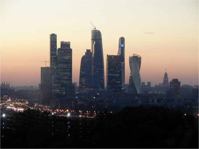 Modern Moscow at sunset - Photo G-Paz-y-Mino-C 2016
