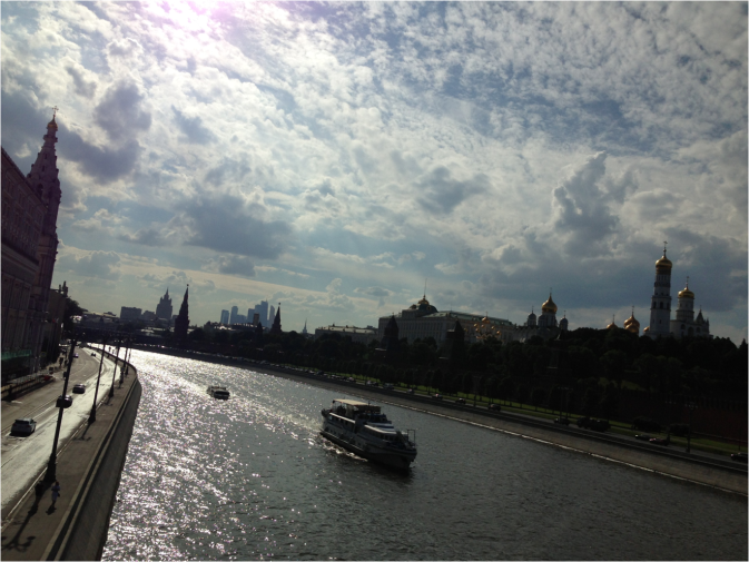 Moscow River and Kremlin - Photo G-Paz-y-Mino-C 2016