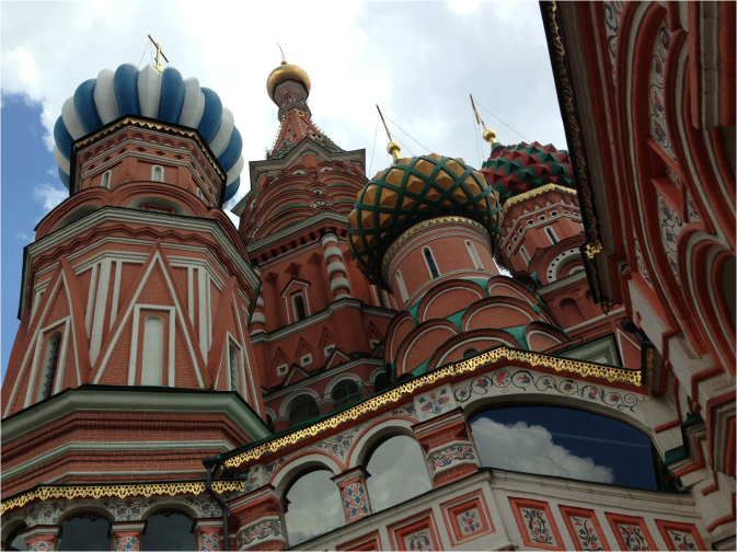 Saint Basil's Cathedral Moscow closeup - Photo G-Paz-y-Mino-C 2016