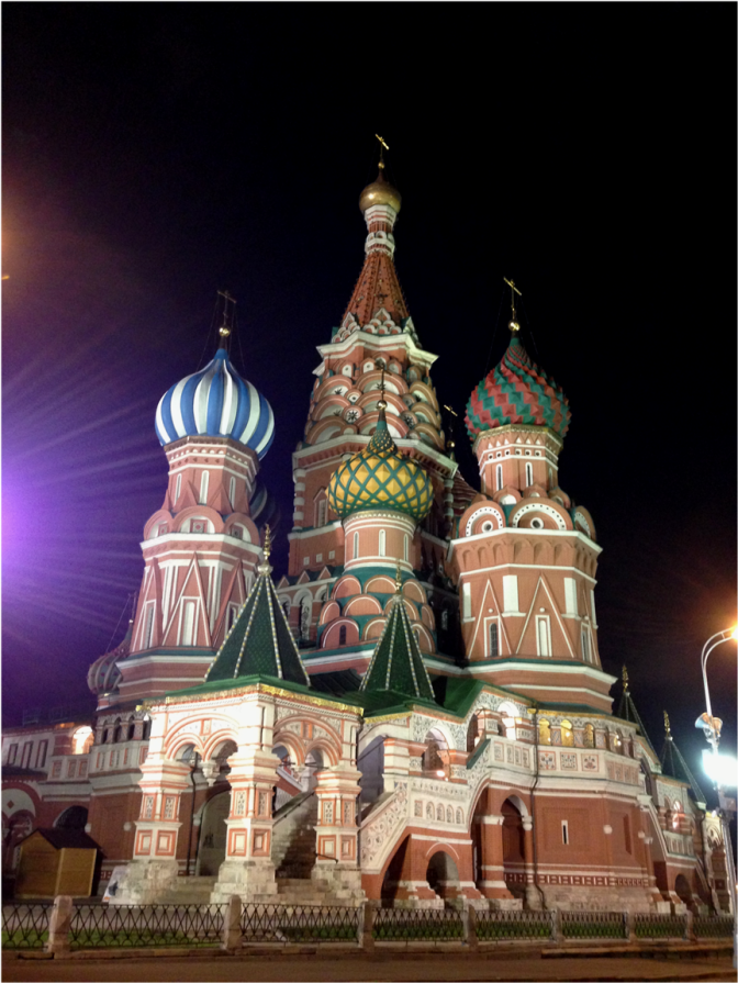 Saint Basil's Cathedral Moscow NIGHT - Photo G-Paz-y-Mino-C 2016