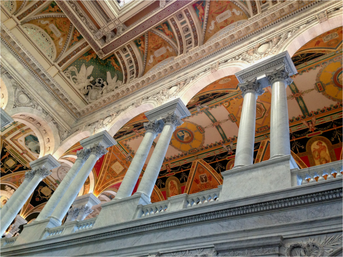 Interior Library of Congress - Photo G-Paz-y-Mino-C 2016