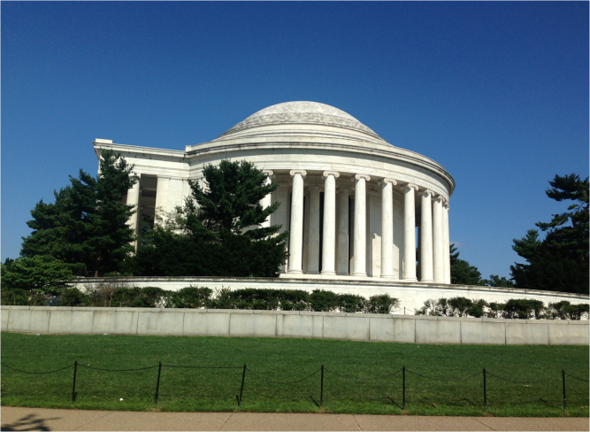 Jefferson Memorial Washington DC color - Photo G-Paz-y-Mino-C 2016
