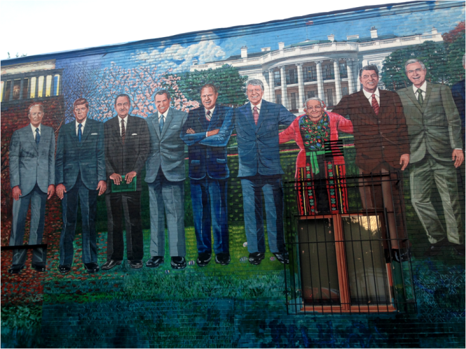 Presidential 2 of 3 Mural Mama Ayeshas Rest Washington DC - Photo G-Paz-y-Mino-C 2016