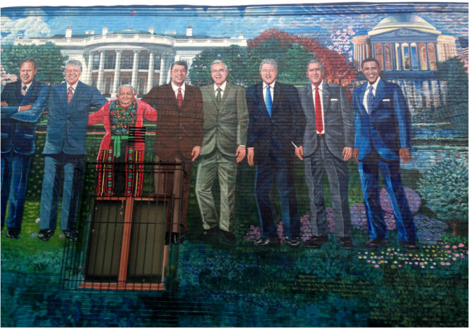 Presidential 3 of 3 Mural Mama Ayeshas Rest Washington DC - Photo G-Paz-y-Mino-C 2016