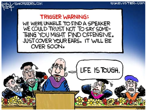 Trigger Warning - Life Is Tough - Evolution Literacy 2016