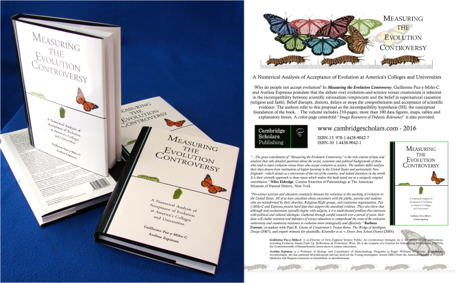 measuring-the-evolution-controversy-books-and-flyer-paz-y-mino-c-espinosa-2016